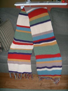 Dr. Who Scarf Picture