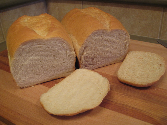 Test Loaves Cut